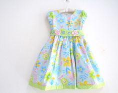 Vestido Infantil-Florido