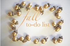 ideas for fall activities