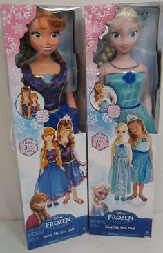 Disney's Frozen Elsa and Anna My Size Dolls Giveaway