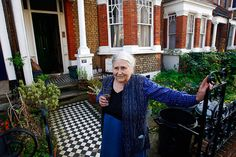 No. 24 Credit: Kieran Doherty/Reuters/Corbis Doris Lessing chats with the media on the doorstep of her house in London in 2007 after being awarded ...