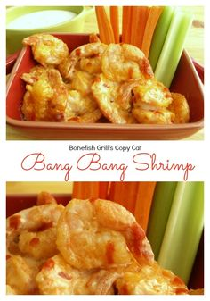 Bonefish Grill's {Copy Cat} Bang Bang Shrimp - a perfect mix of spice and crispy that makes this a perfect appetizer or topping for a salad.