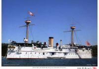 """扶桑型: 扶桑・山城Fuso Class: """"FUSO"""" """"YAMASHIRO""""公試中の戦艦扶桑型『扶桑』(昭和8年5月10日 宿毛標柱間)May.10,1933:Battleship """"Fuso"""" on sea trials at Sukumo."""