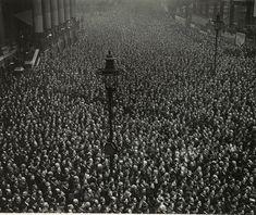 Armistice Day in London, 1918