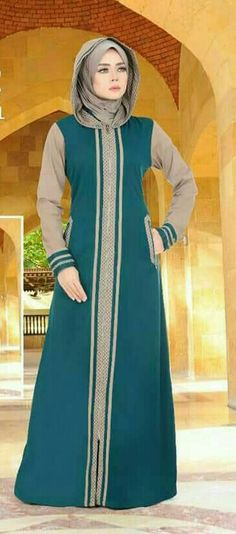 Long Dress Fashion, Abaya Fashion, Fashion Wear, Modest Fashion, Skirt Fashion, Fashion Outfits, Turkish Fashion, Islamic Fashion, Muslim Fashion