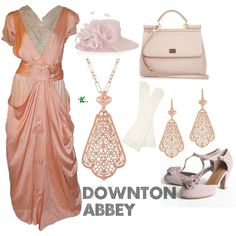 My creation inspired by the UK television series set on the fictional estate of Downton Abbey.