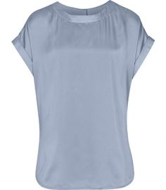 Reiss Ellie T-SHIRT WITH BUTTON BACK $170