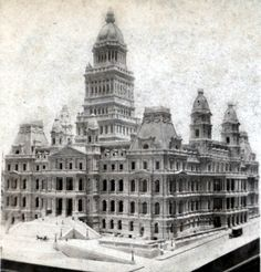Model of the new State Capitol Building, Albany