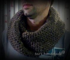 teo's handmade: Sal crosetat - barbati Crochet, Handmade, Fashion, Moda, Hand Made, Fashion Styles, Ganchillo, Crocheting, Fashion Illustrations