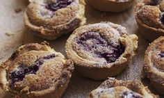 Raspberry hazelnut tartlets. Photograph: Jonathan Lovekin