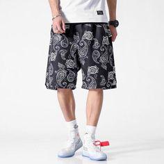 PAISLEY BANDANA BAGGY SHORTS Hip Hop Shop, Baggy Shorts, Hip Hop Outfits, Summer Shorts, Bandana, Streetwear, Paisley, Retro, Pants