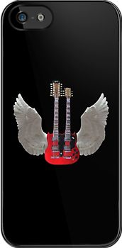 Rock Angel, T Shirts & Hoodies. ipad & iphone cases http://www.redbubble.com/people/kempson/works/11492616-rock-angel-t-shirts-and-hoodies-ipad-and-iphone-cases?p=ipad-case