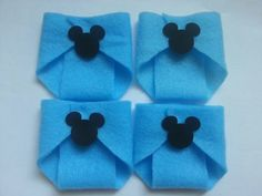 20 Blue Dirty Diaper W/ Mickey Mouse Dirty by CutePartySupplies, $10.00