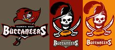 buccaneers old logo | Bucs old and new logo mashup - Concepts - Chris Creamer's…