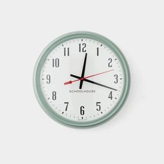 Shop Handcrafted, High Quality Iconic Wall Clocks such as the IBM Clock, Sweeping Hand Clock and Brass Case Kennedy Clock. Shop your Perfect Wall Clock Now! Mid Century Style, Mid Century Modern Design, Tanker Desk, Metal Steps, Home Clock, American Manufacturing, Vintage Office, Wire Shelving, Mid-century Modern