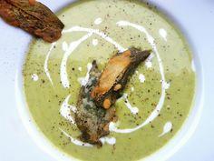 glutenfreie zucchini-suppe