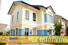 GABRIELLE MODEL HOUSE No cash out on downpayment, Installment basis at 0% interest. Only PHP 19k-20k monthly DP. - Kayang kaya mo na! Less than 30 minutes from Baclaran, SM Mall of Asia and Airport thru the NEW CAVITEX Expressway - shortcut way to avoid traffic hours along Bacoor! HOUSE FEATURES  House Type : Single Attached 2-storey Floor Area: 84 sq. m. Lot Area: 120 sq. m. Three (3) Bedrooms with Partition Two (2) Toilet and Bath etc. for more info. visit our wevsite…