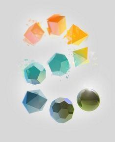 Gimme Bar #color #shapes #3d #primitives