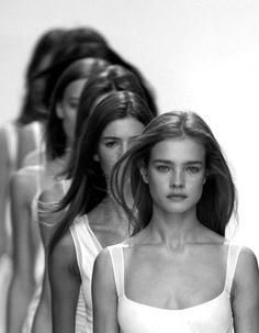 """Fashionissima Originale"" Natalia Vodianova"