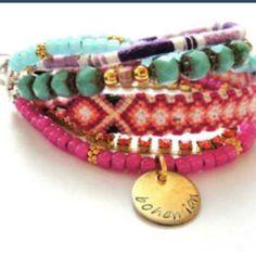 DIY Bohemian bracelet