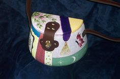 Purse Painted Especially for Victoria