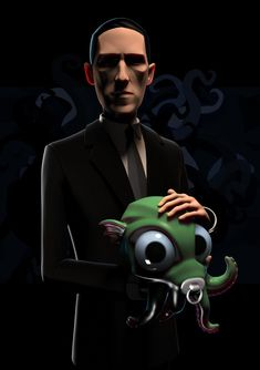 Hp Lovecraft, Cthulhu, Horror, Fan Art, Portrait, Pictures, Wallpapers, Fictional Characters, Image