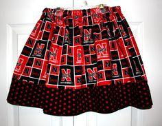 ZiggyTails size 7-8 Husker Skirt. $16.00, via Etsy.