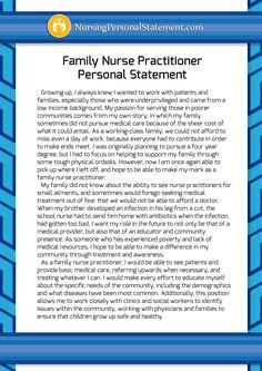 Nurse practitioner admission essay