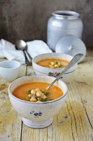 Pratos e Travessas: Uma sopa e duas receitas para a revista Activa # A soup and two recipes for Activa magazine