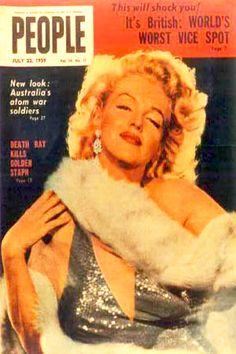 1959 July issue: People (Australian) magazine cover of Marilyn Monroe .... #marilynmonroe #normajeane #vintagemagazine #pinup #iconic #raremagazine #magazinecover #hollywoodactress #1950s