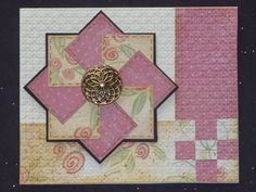 Quilted card class by Mrs Noofy - Cards and Paper Crafts at Splitcoaststampers
