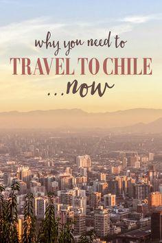 En Chile, puedes comes mucho comida y caminar por la ciudad. Tiene fiestas durante el tiempo de calor.