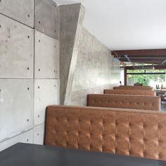 Projeto em andamento, restaurante na cidade de Santos. Felipe Torelli arquitetura e design. www.felipetorelli.com.br #concrete #interiordesign #design