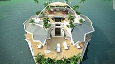 Orsos Island - The $6 million man-made floating island