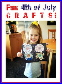 Cute Fourth of July Crafts for Kids