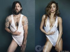 """""""Miranda Kerr's GQ Shoot Recreated By A Man, And It's Weird And Thought-Provoking"""" """""""
