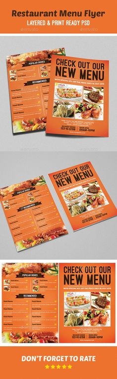 Free Restaurant Menu Template Free EPS file Set of cafe and - sample menu template