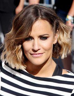 X Factor star Caroline Flack's hair history | Hair & Beauty | heatworld