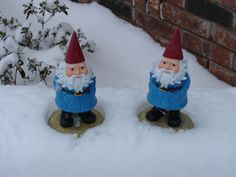 These are my traveling buddies.  Travelocity gnomes!