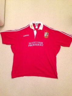 #Adidas british and #irish lions shirt 1997 #south africa tour,  View more on the LINK: http://www.zeppy.io/product/gb/2/182427677097/