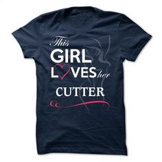 CUTTER – This Girl Love Her CUTTER T Shirt, Hoodie, Sweatshirts - tshirt design #shirt #Tshirt