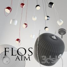 Flos aim suspension lamp