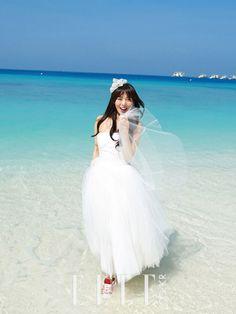 Wonder Girls's Sun Ye Elle Korea Magazine March Issue '13