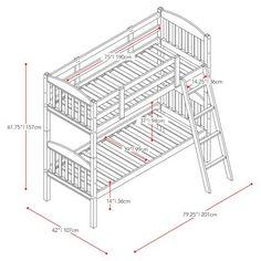 Estructura de litera para carpintero