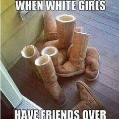 White girl jokes