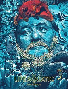 The Life Aquatic by Joshua Budich #LogoCore