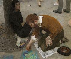 "Geliy Korzhev - ""Artist"", 1961"