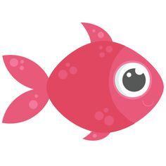 Fish SVG cutting files for scrapbooking ocean svg cut files ocean svg cuts beach svg files
