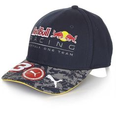 Red Bull Racing  3 Formula 1 Daniel Ricciardo Puma Baseball Hat Adjustable Formula  1 Merchandise 402dd8640e8