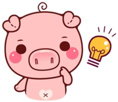 Pigma version 2 : They will bring more excitement and fun to your chatting. Pig Images, Cute Images, Wonder Art, Crochet Pig, Pig Drawing, Pig Illustration, Pig Art, Manga Cute, Mini Pigs