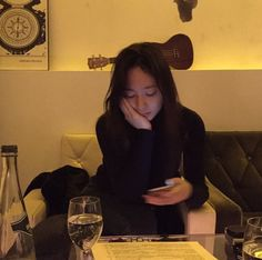 """""""Krystal is the kind of girlfriend who snaps every precious moments she spend with her boyfriend"""" Jessica & Krystal, Krystal Jung, Jessica Jung, Krystal Instagram, Instagram Posts, Ice Princess, Korean Artist, Character Aesthetic, Korean Actresses"""